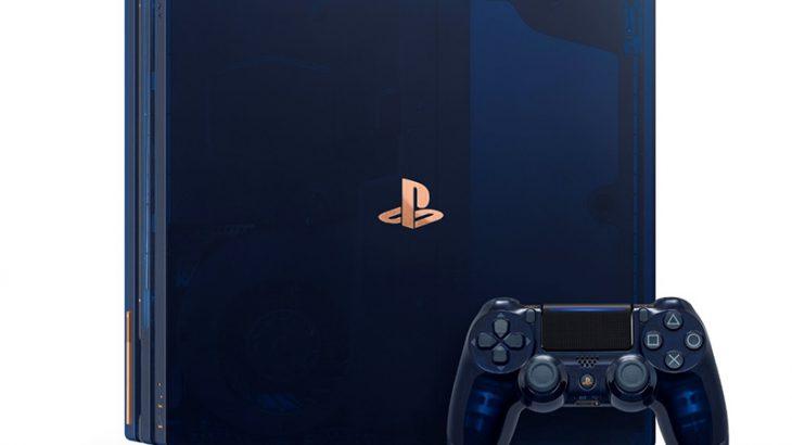 8月14日(火)より『PlayStation 4 Pro 500 Million Limited Edition』 抽選販売受付開始!!